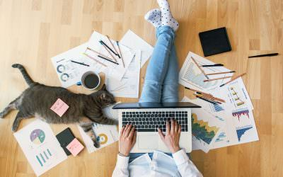 Create a Safe, Productive At-Home Workspace